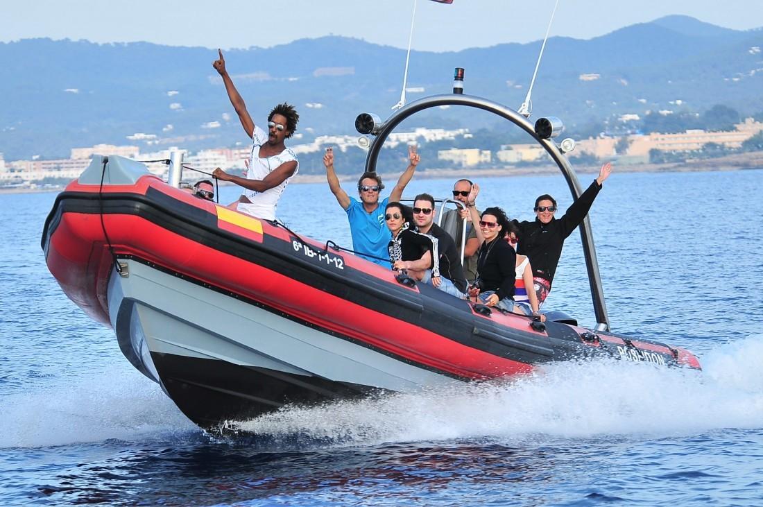 Poseidon Speed Boat Ibiza San Antonio Port Hangloose Ibiza