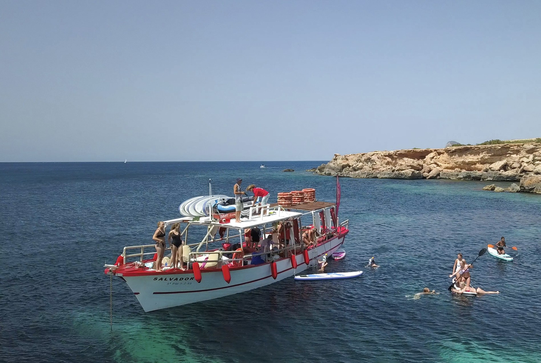 3 hours Ibiza's N1 Boat Trip San Antonio Port | What to do ...